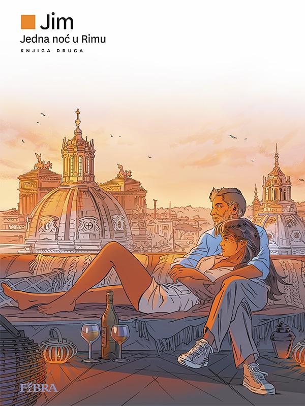 Jedna noć u Rimu knjiga druga